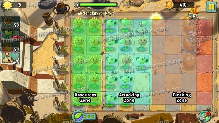 Plants vs. Zombies 2 Gameplay Walkthrough Basic