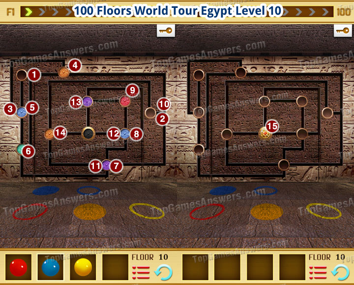100 Floors World Tour Egypt Level 10