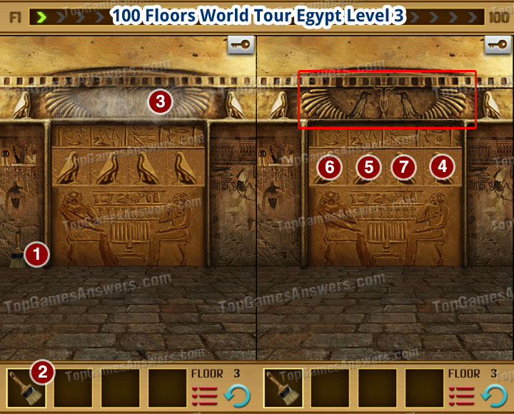 100 Floors World Tour Egypt Level 3