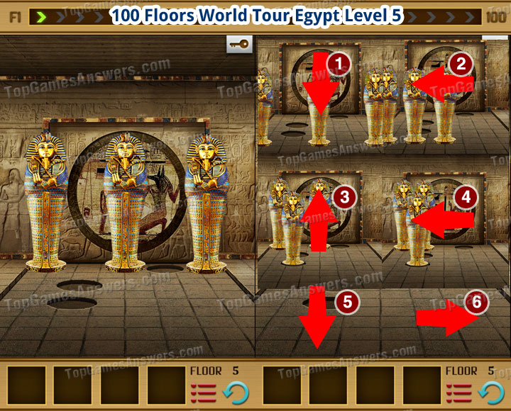 100 Floors World Tour Egypt Level 5