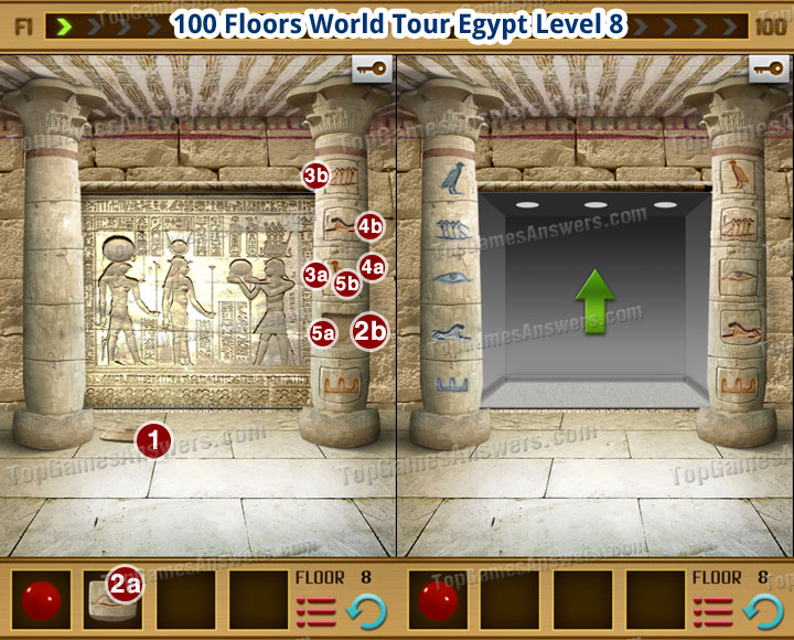 100 Floors World Tour Egypt Level 8