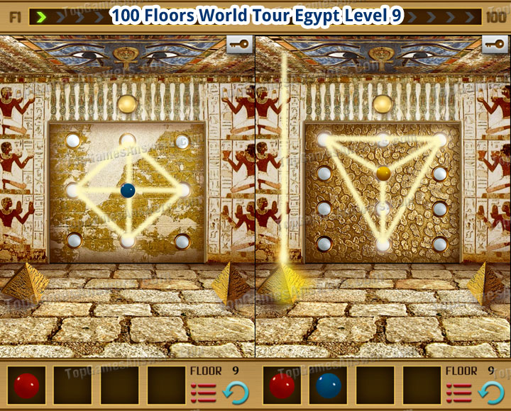 100 Floors World Tour Egypt Level 9