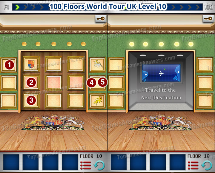 100 Floors World Tour UK Level 10