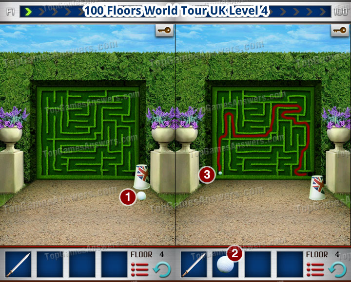 100 Floors World Tour UK Level 4