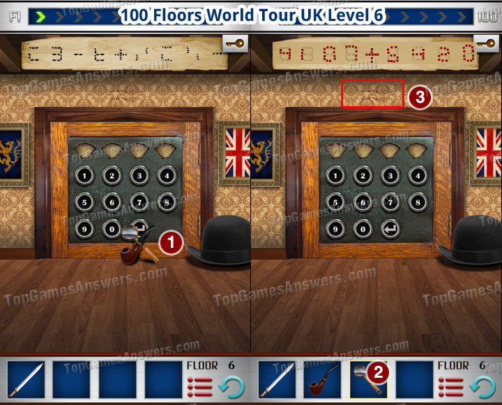 100 Floors World Tour UK Level 6