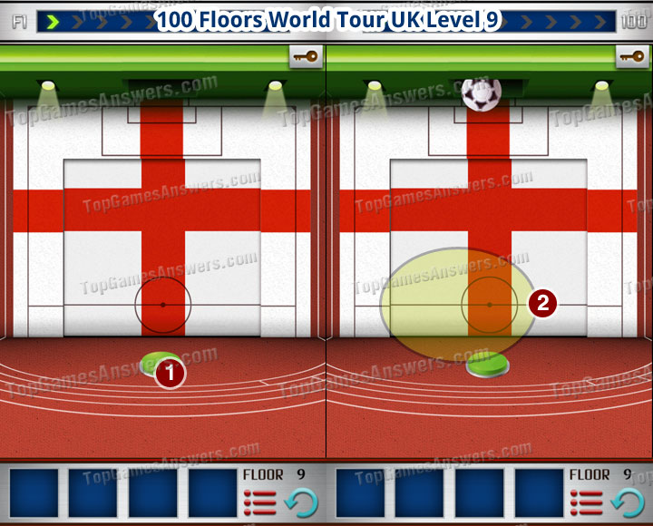 100 Floors World Tour UK Level 9