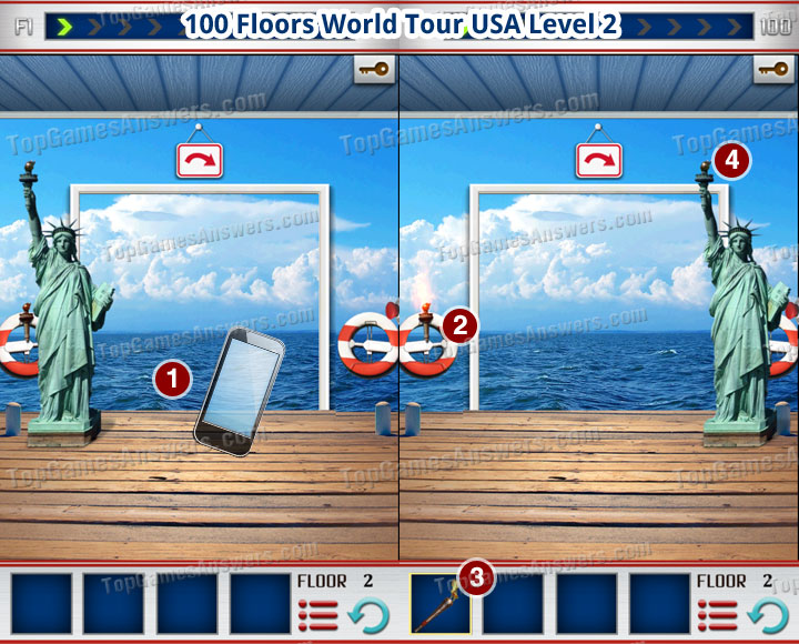 100 Floors World Tour USA Level 2