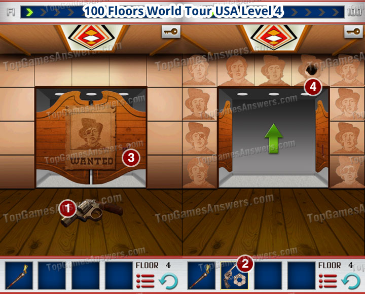 100 Floors World Tour USA Level 4