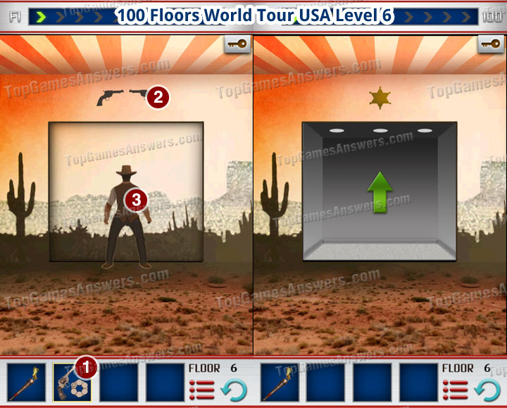 100 Floors World Tour USA Level 6