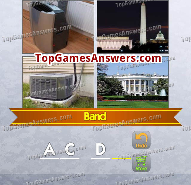 4 Pics 1 Mix Answers Bands Level 2