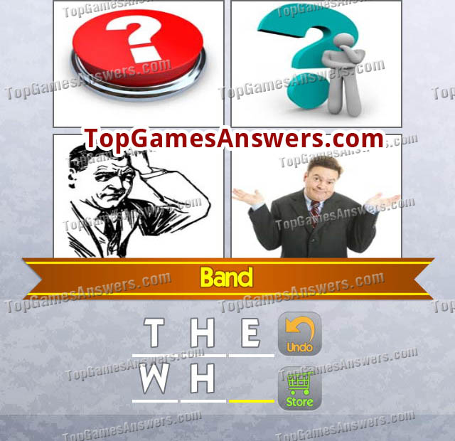 4 Pics 1 Mix Answers Bands Level 7