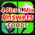 4 Pics 1 Mix Answers Foods