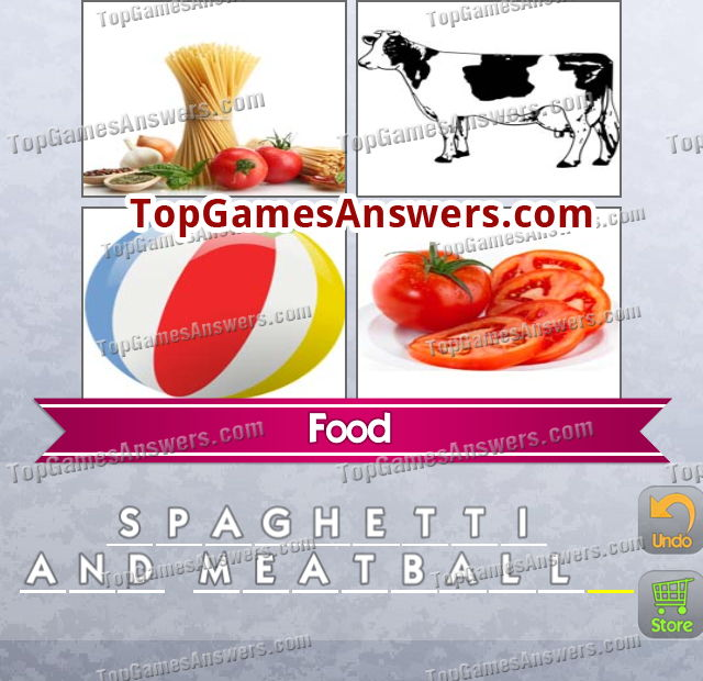 4 Pics 1 Mix Answers Foods Level 1