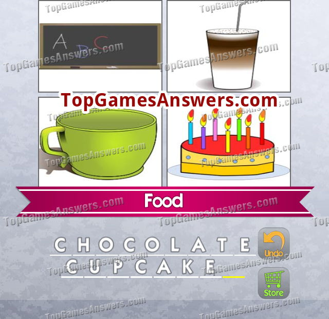 4 Pics 1 Mix Answers Foods Level 19