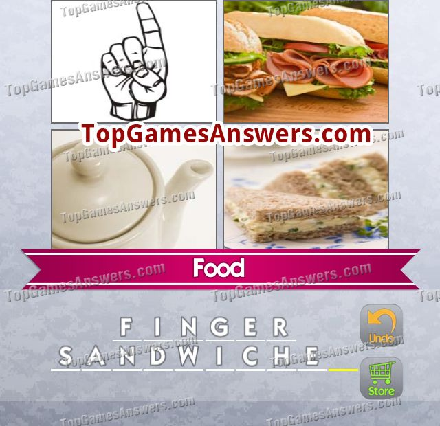 4 Pics 1 Mix Answers Foods Level 7