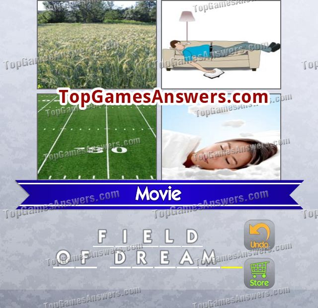 4 Pics 1 Mix Answers Movies Level 1
