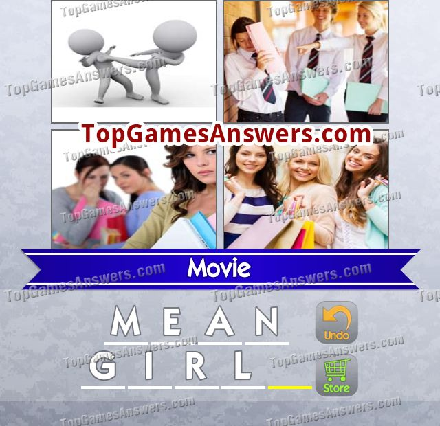 4 Pics 1 Mix Answers Movies Level 25