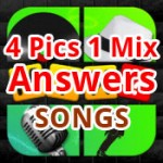 4 Pics 1 Mix Answers Songs