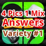 4 Pics 1 Mix Answers Variety 1 Featured