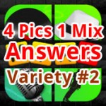4 Pics 1 Mix Answers Variety 2 Featured