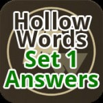 Hollow Words Answers Set 1 Featured