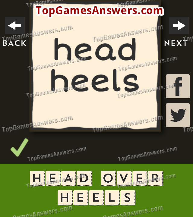 Hollow Words Answers Set 1 Level 1